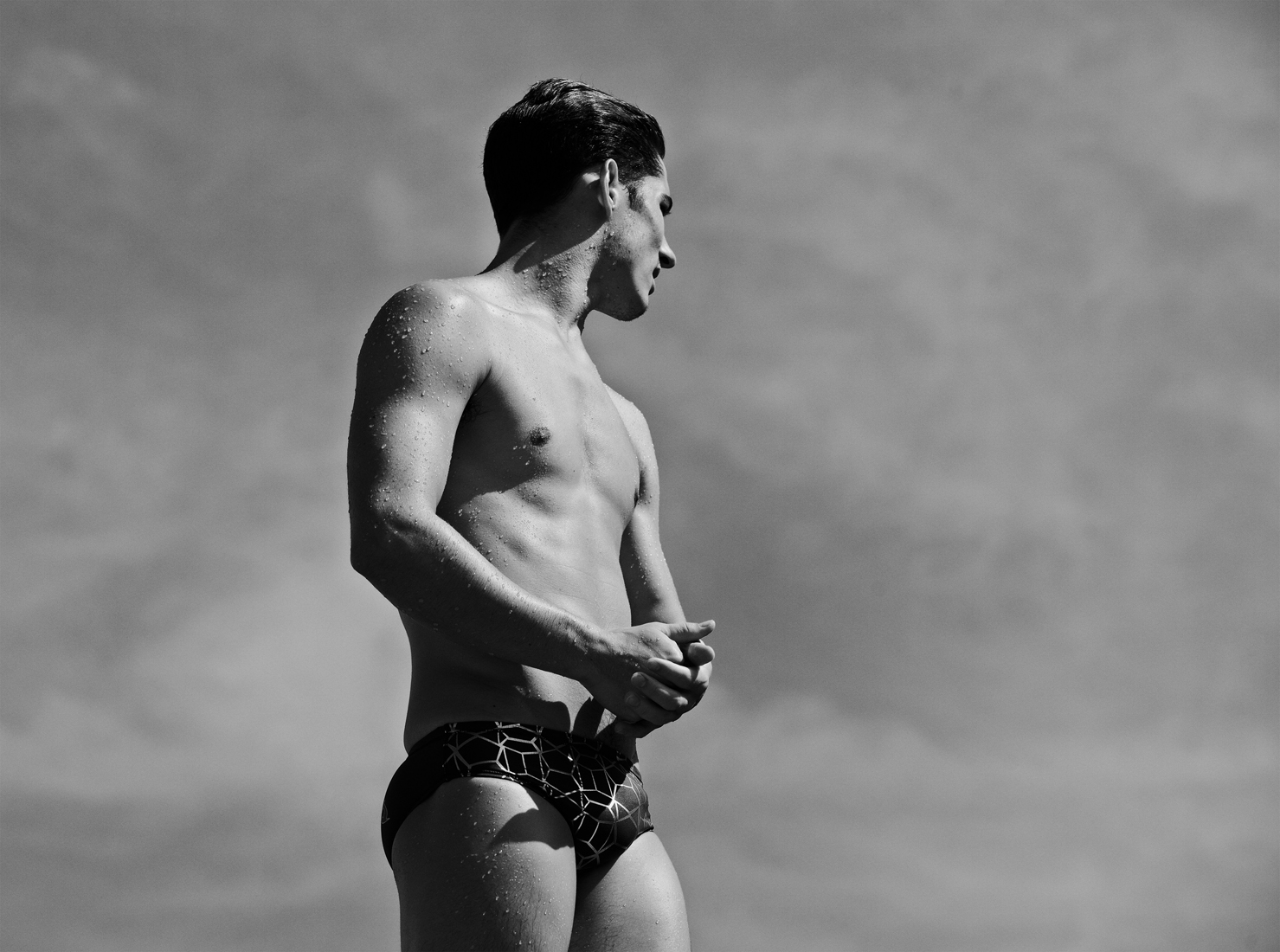 Olympic Diver speedo